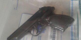 School boys found with pistol and ammunition, Port St Johns. Photo: SAPS