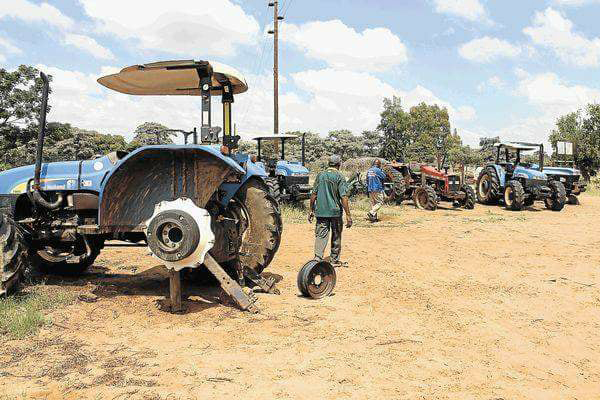 ANC's R500 mill farming project a catastrophe, 85 new tractors wasted | South Africa Today