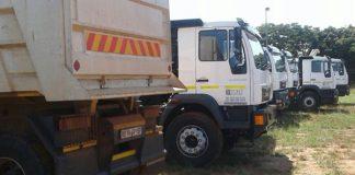 Cross border stolen truck syndicate smashed, Thohoyandou. Photo: SAPS