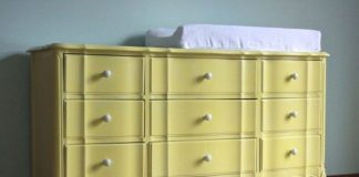 Baby Dresser With Changing Table