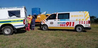 Two men electrocuted in Newlands East, Durban. Picture: Netcare 911