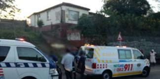 Two children dead after wall collapses on them, Durban. Photo: Netcare 911