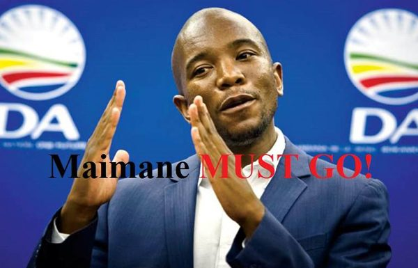 It is time for Maimane to go? Photo: FNSA