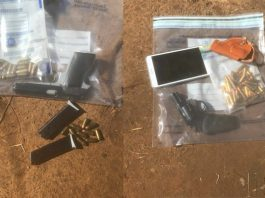 Tip off leads to two arrests, illegal firearms recovered. Photo: SAPS