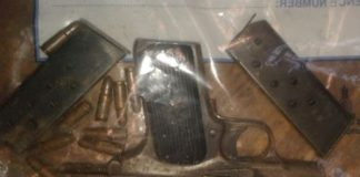 Rondebosch police recover firearm after coming under fire. Photo: SAPS