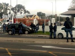 Hijacker wounded in police shootout, Steenberg. Photo: SAPS