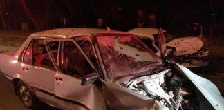 Three injured in Midrand crash. Photo: Netcare 911