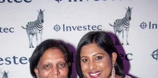 SPAR Eastern Cape advertising manager Roseann Shadrach (right) is joined by her mother, Selina Naicker, at the Business Women's Association regional achiever awards function in Port Elizabeth last week. Picture: Bernadette Meistre/One Two Tree Photography
