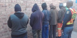 R 242k stolen copper cable recovered, 6 arrested, Upington. Photo: SAPS