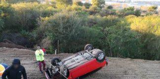 Two injured in Pietermaritzburg rollover crash