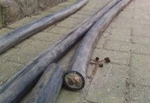 Substation repaired only to have cables stolen again, PTA. Photo: Die Vryburger
