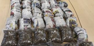 36 parcels of dagga recovered, Philippi East. Photo: SAPS