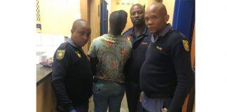 Drug dealer nabbed with mandrax, De Aar. Photo: SAPS