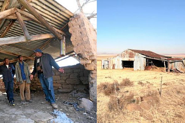 Expropriation without support, the end result is disaster. Photo: FNSA
