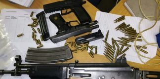 Serious crime foiled, firearms recovered, KwaMakhutha taxi rank. Photo: SAPS