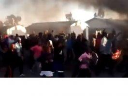 Kimberley violence, chaos: A city under siege. Photo: BKA