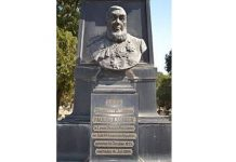 Kruger grave monument vandalised, 'Heroes Acre cemetery', Pretoria. Photo: Die Vryburger