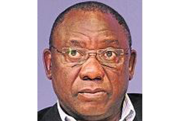 Ramaphosa, the absent president. Photo: Die Vryburger