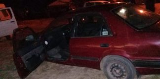 Two arrested with stolen vehicle, Tamara. Photo: SAPS