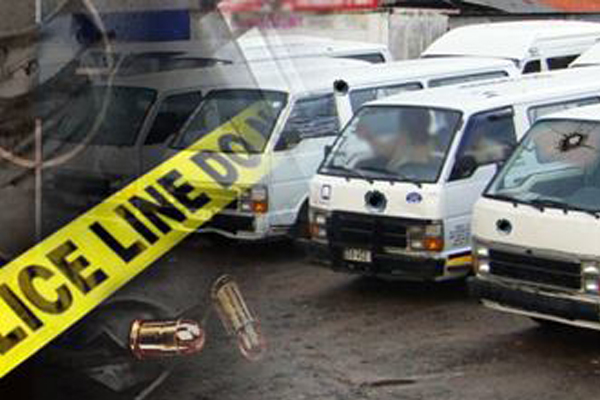 Ongoing Limpopo taxi violence, shootings, torched taxi. Photo: SAPS