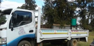 Secunda driving school stolen truck recovered, man arrested. Photo: SAPS