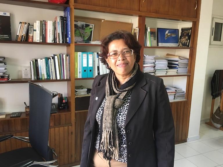 Nanie Ratsifandrihamanana, country director for the NGO WWF in Madagascar. Photo by Rowan Moore Gerety for Mongabay.