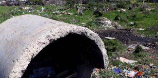 Newborn baby found alive between rubbish on dump site. Photo: SAPS
