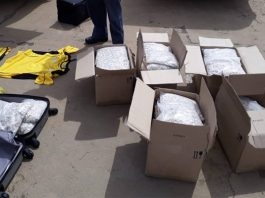 Major R8 mil drug consignment stopped in its tracks, Calvinia Photo: SAPS