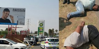 Alberton house robbery, attempted hijacking, shootout, 4 arrested. Photo: CPS Security