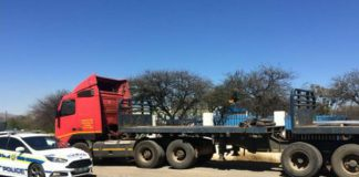 Fraudster to appear in court, truck impounded, Brits. Photo: SAPS