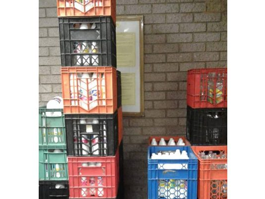 Suspect arrested for dealing with counterfeit products. Photo: SAPS