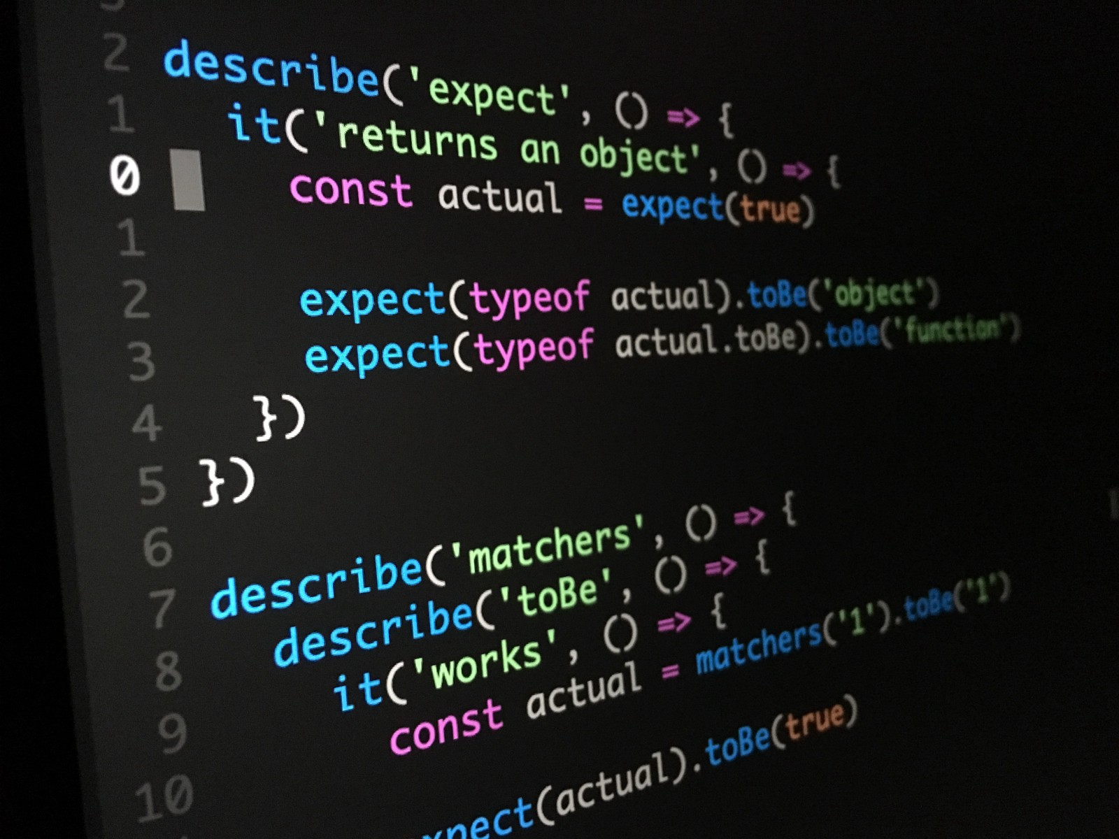 Why do you need to give the javascript online test? | South
