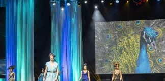 Top Port Elizabeth designer Jason Kieck alludes to natural elements within the Orient for his annual fashion extravaganza, sponsored by SPAR Eastern Cape, taking place at the Boardwalk Hotel and Convention Centre on October 20. Photo: Oracle Media