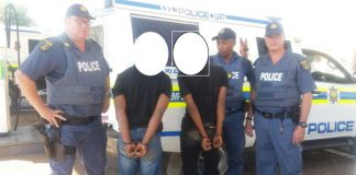 K9 unit members recover of abalone worth R1.2 mil, Bloemfontein. Photo: SAPS