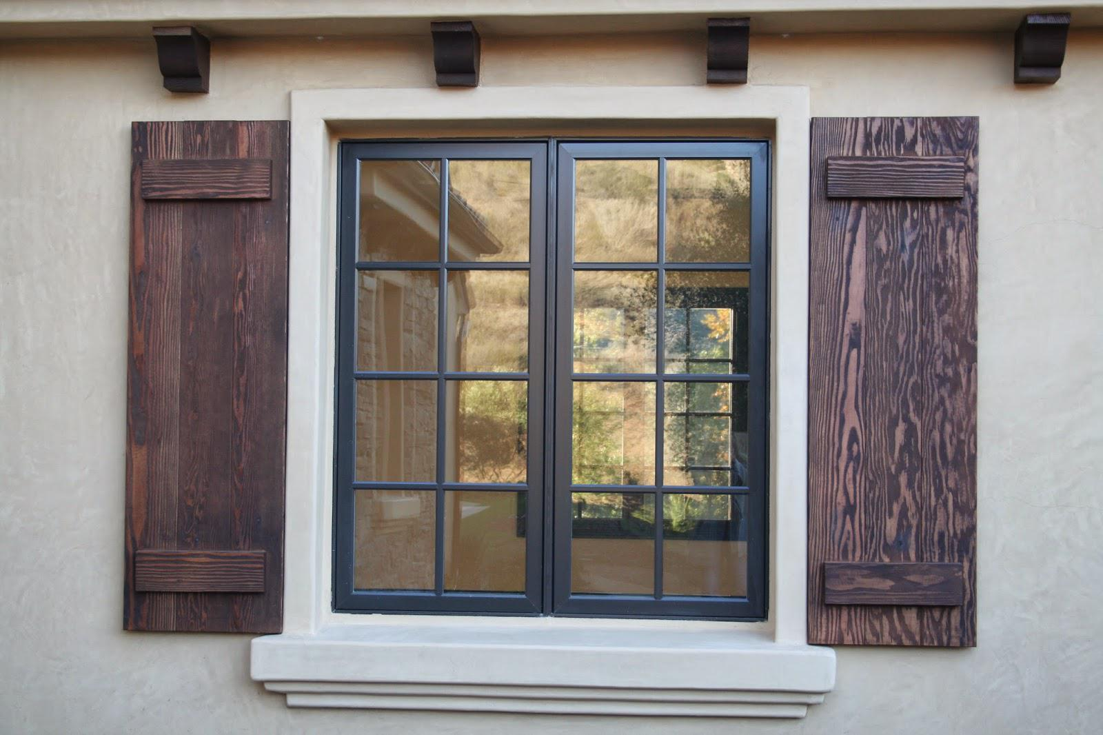 Wood vs mdf window stutters which one should you choose - Exterior wooden shutters for windows ...