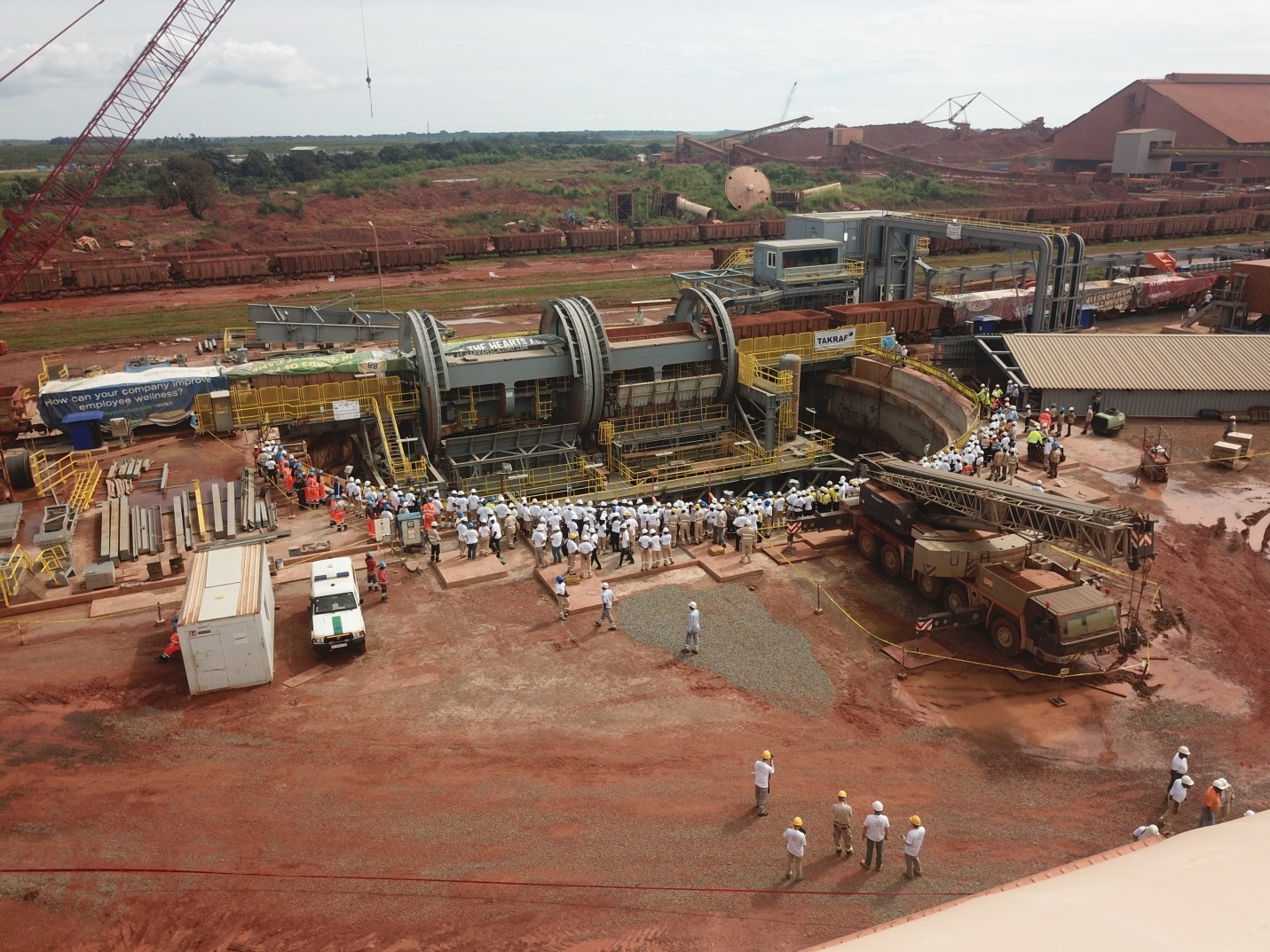 Fluor Bauxite Project in Guinea Achieves First Ore