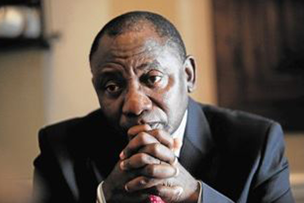Ramaphosa lied about his son and Bosasa money: He took it ! Photo: Die Vryburger