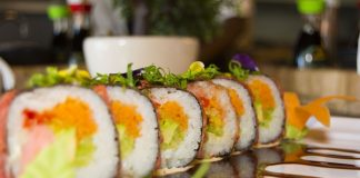 Suki Sushi & Asian Cuisine, established last October, will showcase their delicious Asian dishes and sushi to SPAR Goodnight Market visitors at the Tramways Building in Port Elizabeth on November 15. Photo: Shannon Chivers Photography
