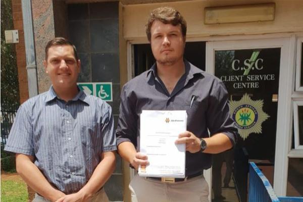 AfriForum submits criminal charges against municipal manager, Emfuleni. Photo: AfriForum