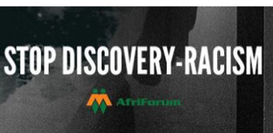 AfriForum launches campaign and website against Discovery racism. Photo: AfriForum
