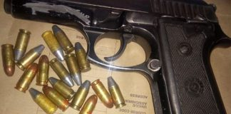 Man on bail for murder arrested with illegal firearm, Pretoria CBD. Photo: SAPS
