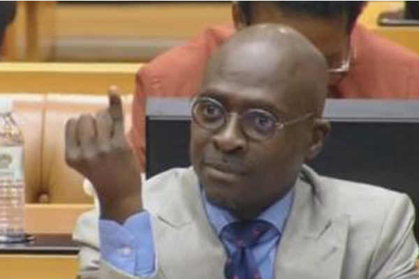 Gigaba threatens the ANC. Photo: Die Vryburger