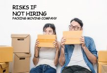 Risks Involved if Not Hiring a Packing Moving company