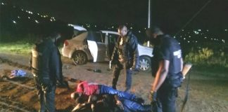Kidnapped man rescued minutes before execution, Inanda. Photo: RUSA