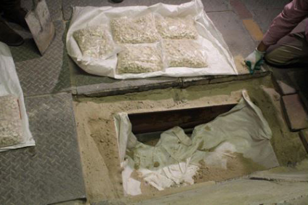 Drugs worth over half a million rand seized in Cape Town. Photo: SAPS