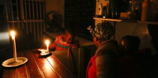 South Africa needs a new economic policy that envisages an overhaul of the power utility Eskom, which can't keep the lights on. EPA/Nic Bothma