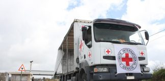 Humanitarian aid in the Golan Heights