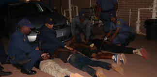 Four Mothibistad hijackers arrested at roadblock. Photo: SAPS