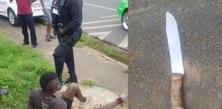 Two young girls robbed, suspect apprehended, Brindhaven. Photo: RUSA