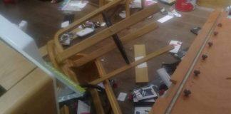 Only six arrests after EFF smashed Vodacom shops. Photo: SAPS